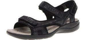 Clarks Women's Morse Tour - Achilles Tendinitis Comfort Sandals