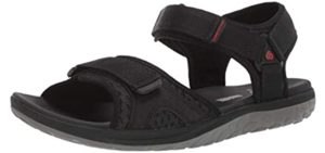 Clarks Men's Beat Sun - Casual Sandals for Arthritic Feet