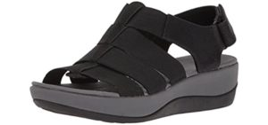 Clarks Women's Arla Shaylie - Orthopedic Comfort Sandals for Diabetes