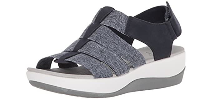 Clarks Women's Arla Shaylie - Orthopedic Morton's Neuroma Sandals