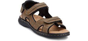 Dockers Men's Newpage - Sporty Sandals for Hallux Rigidus