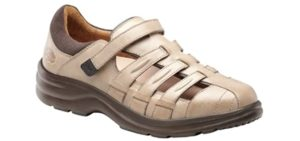 Dr. Comfort Women's Breeze - Stability Sandals for Back Pain