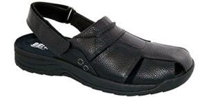 Drew Men's Barcelona - Sandals for Wide Feet
