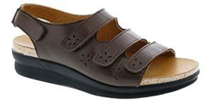 Drew Women's Bonita - Sandals for Wide Feet