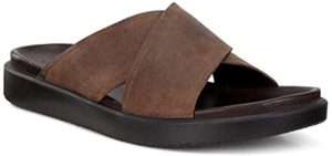 ECCO Men's Flowt - Slide Sandals for Metatarsalgia