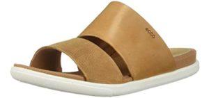 ECCO Women's Damara - Slide Sandals for High Arches