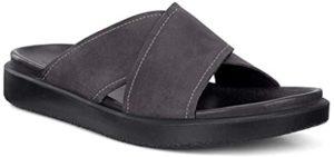 ECCO Men's Flowt - Slide Sandals for High Arches