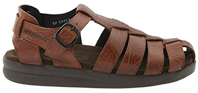Mephisto Men's Sam - Leather Fisherman's Sandal