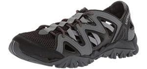 Merrell Men's Tetrex - Long Distance Outdoor Walking Sandals