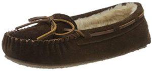Minnetonka Women's Cally - Slippers for Narrow Feet