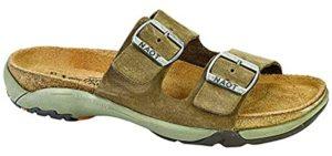 Naot Men's Shai - Cork Footbed Slip On Sandal