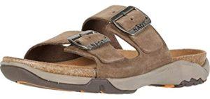 Naot Women's Shai - Cork Footbed Slip On Sandal