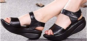 Rocker Sole Bottom Sandals