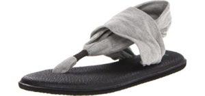 Sanuk Women's Yoga Sling - Zero Drop Sandal