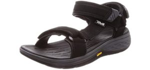 Teva Men's Open Toe - Open Toe Sports Sandal for Plantar Fasciitis
