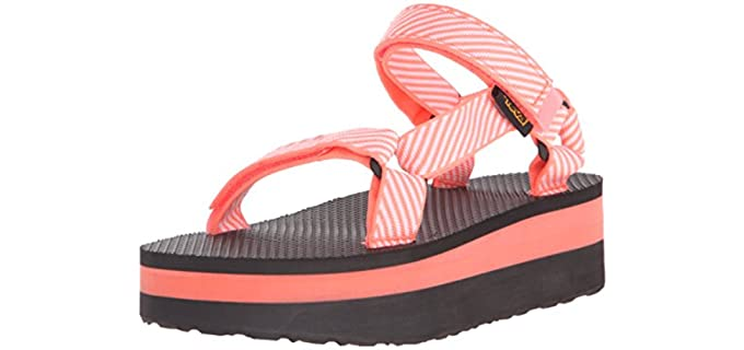 Teva Women's Flatform Original - Platform Sports Sandals