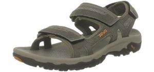 Teva Men's Hudson - Casual Outdoor Sandals for Flat Feet