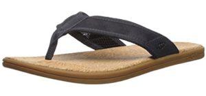UGG Men's Seaside - Flip Flops with a Cork Footbed