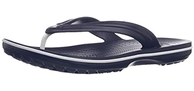 Crocs Men's Crocband - Athlete's Foot Flip Flop