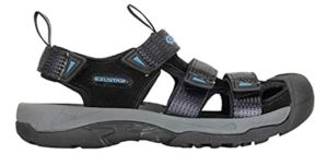 Exustar Men's SS515C - Protective Cycling Sandal