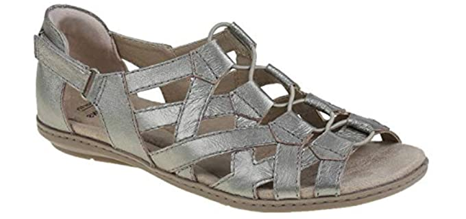Earth Origins Women's Belle Bridget - Flat Sandals