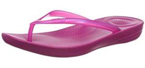 FitFlop Women's Iqushion - Flip Flop For Hallux Rigidus