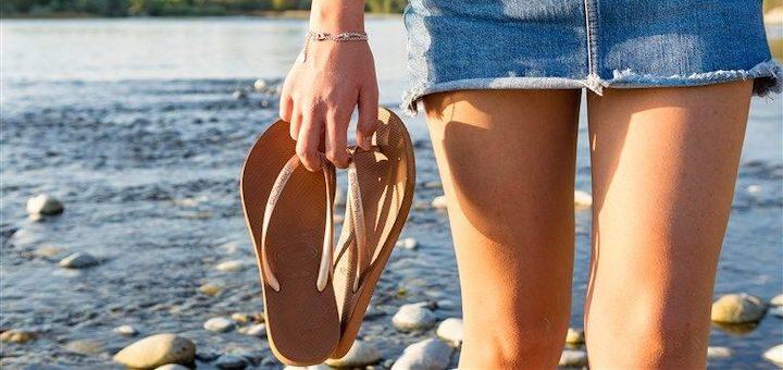 Flip Flops for Athletes Foot