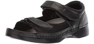 Propet Women's Pedic Walker - Cracked Heels Dress Sandal