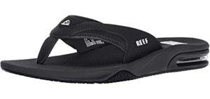 REEF Men's Fanning - Sporty Flip Flops