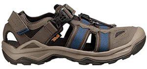 Teva Men's Omnium - Cracked Heels Sandal