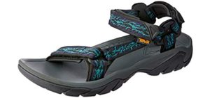 Teva Men's Terra Fi 5 - Hiking Sandal for Cycling