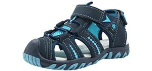 Apakowa Men's Kids - soft Sole Sandal for Toddlers