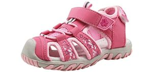 Apakowa Women's Kids - soft Sole Sandal for Toddlers