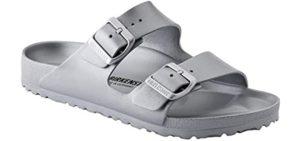 Birkenstock Women's Arizona Essentials - Buckle Slide Sandal