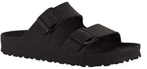 Birkenstock Men's Arizona Essentials - Buckle Slide Sandal