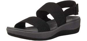 Clarks Women's Arla Jacory - Big Feet Sandals