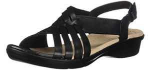 Clarks Women's Loomis Cassey - Sandals for Supination