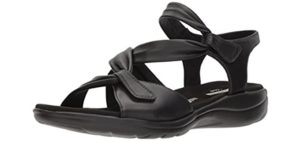 Clarks Women's Saylie Moon - Plantar Fasciitis Dress Sandals