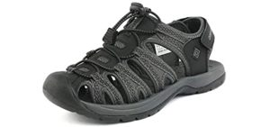 Dream Pairs Women's Adventurous - Podiatrist Recommended Outdoor Sandal