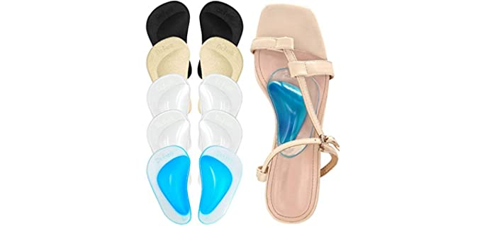 Dr.Foot Unisex Arch Support - Insoles for Sandals