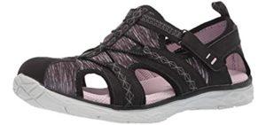 Dr. Scholls Women's Andrews - Comfortable Sandals for Cracked Heels