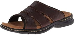 Dr. Scholl's Men's Gordon - Dress Sandal for Heel Spurs