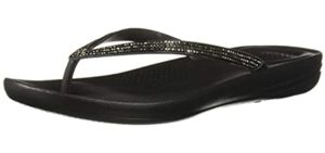FitFlops Women's Iqushion - Flip Flops for Overweight Person's