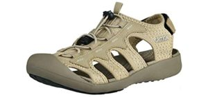 Grition Women's Topcap Athletic - Water Friendly Hiking sandals