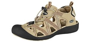 Grition Women's Closed Toe - Hiking and Beach Sandals