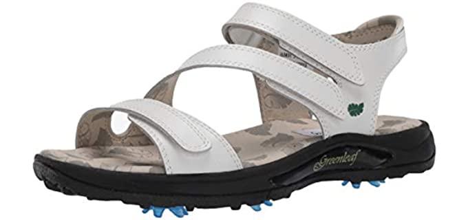 Greenleaf Women's Golf - Golf Sandals
