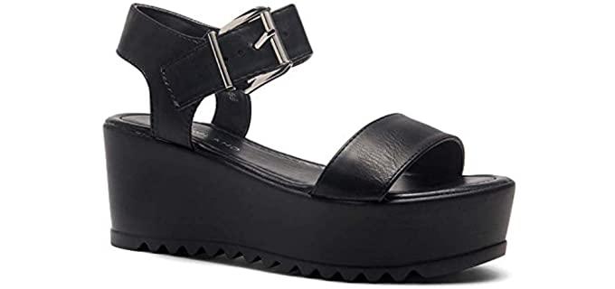 Herstyle Women's Carita - Platform Wedge Sandal