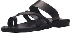 Camel Women's Roman - Sandals with a Toe Loop