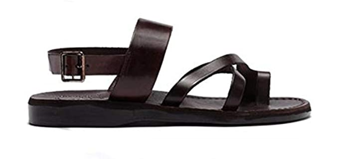 Instead of Trying to Cover the Whole World In Leather, Put On Some Leather Sandals