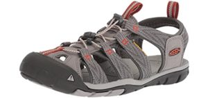 Keen Men's Clearwater CNX - Sporty Boat Shoes
